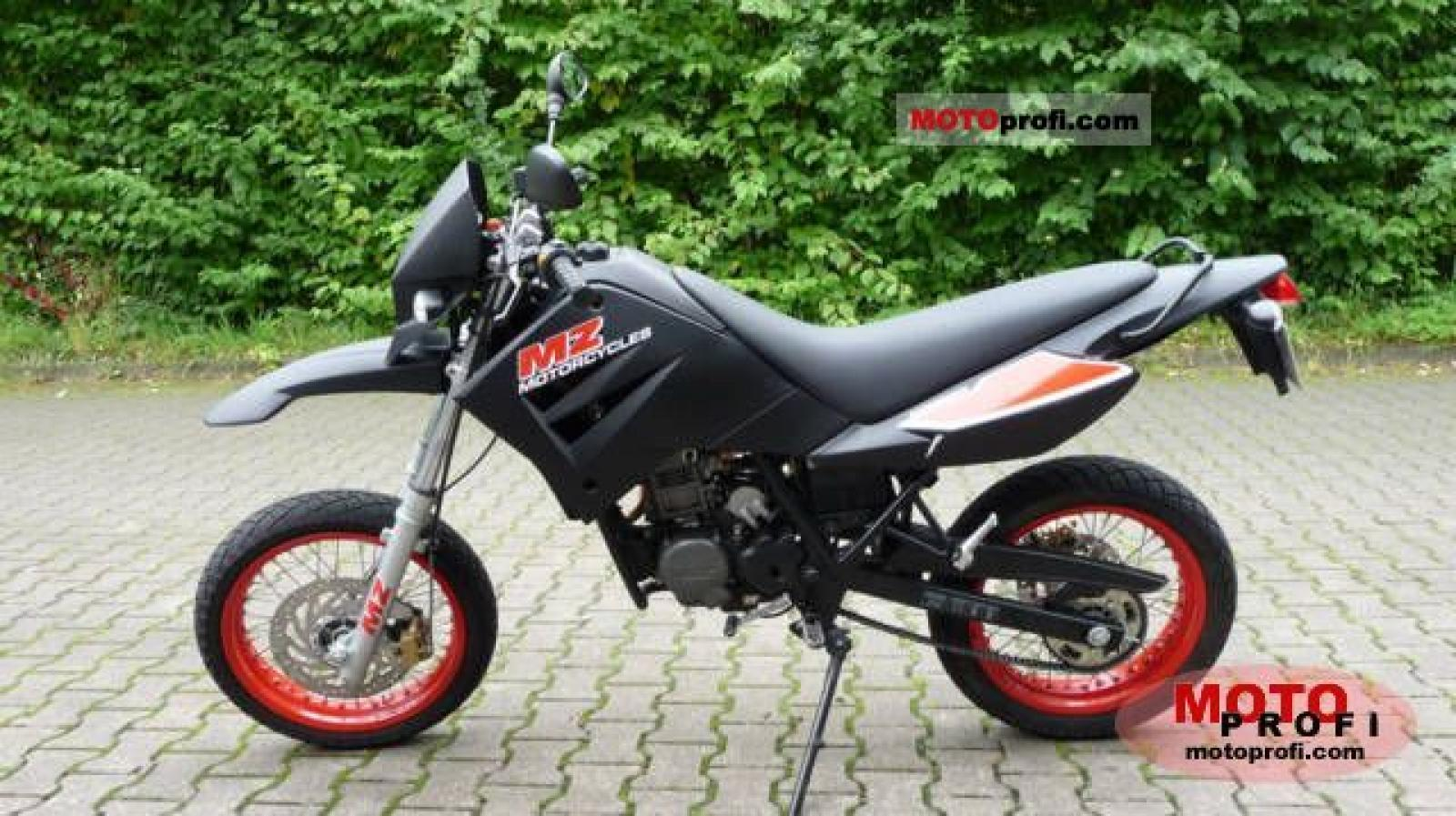 2007 MZ Mantizz 125 #3