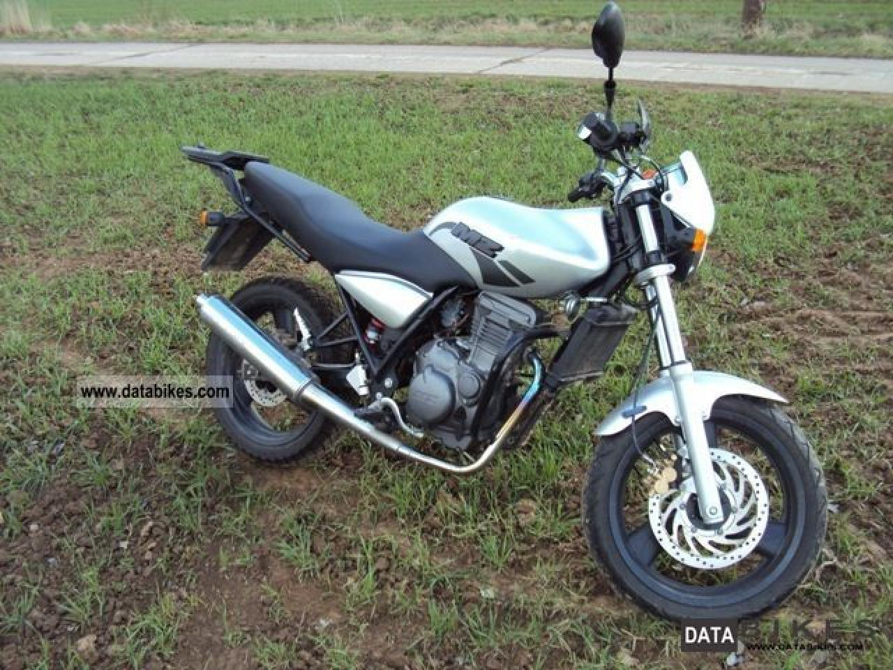 2006 MZ RT 125 Striker #3