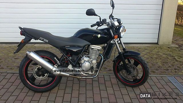 2006 MZ RT 125 Striker #8