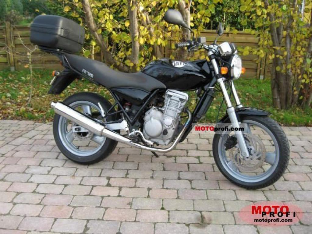 2006 MZ RT 125 Striker #4