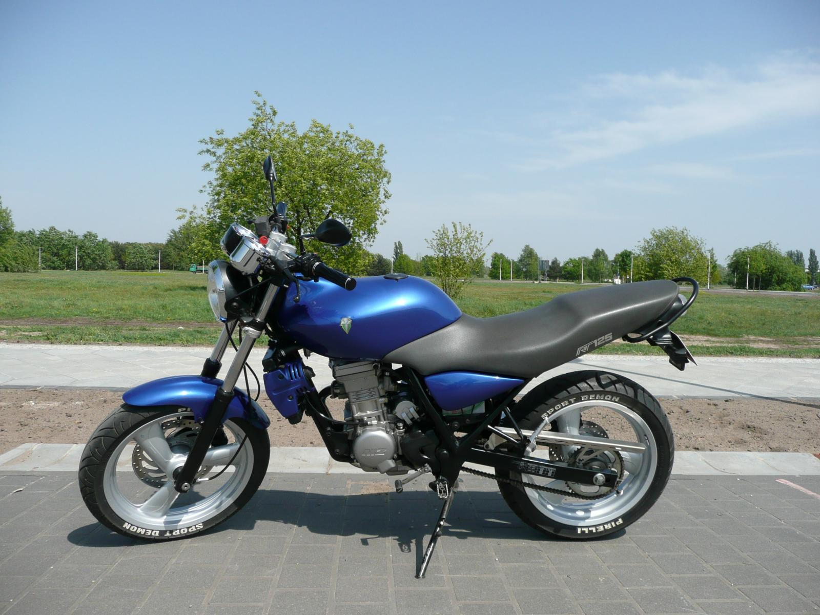 2006 MZ RT 125 Striker #5