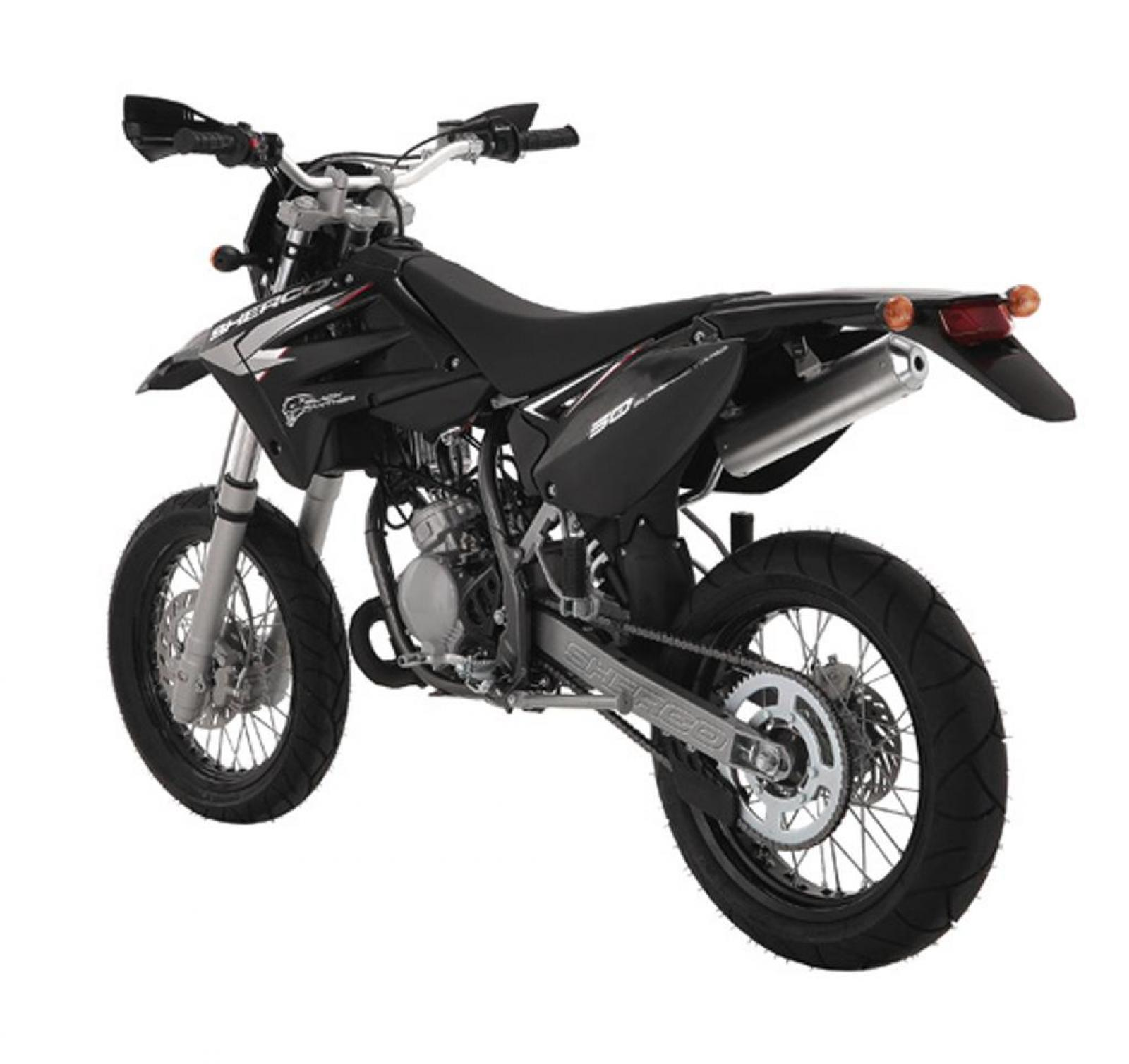 2010 Sherco SM 0.5 Black Panther #1