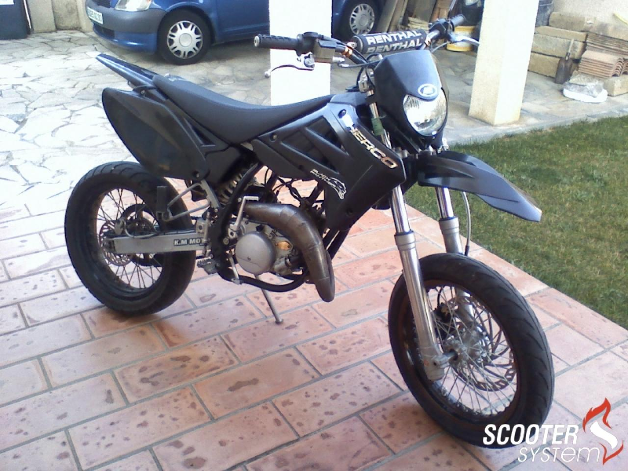 2011 Sherco SM 0.5 Black Panther #3