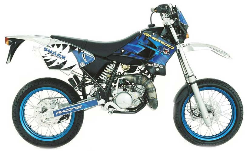 2004 Sherco Supermotard 50 cc #4
