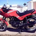 1985 Cagiva 650 Alazzurra (reduced effect)