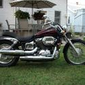Honda Shadow Spirit 750DC (VT 750 DC)