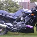 1987 Kawasaki GPZ1100 (reduced effect)
