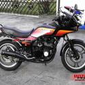 1985 Kawasaki GPZ550 (reduced effect)