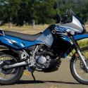 1988 Kawasaki KLR650 (reduced effect)