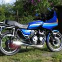 Kawasaki Z550 GT (reduced effect)