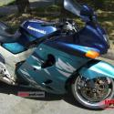 1991 Kawasaki ZZR1100 (reduced effect)