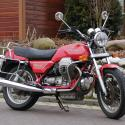 1987 Moto Guzzi Mille GT (reduced effect)