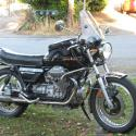 1988 Moto Guzzi Mille GT (reduced effect)