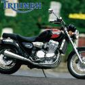 1991 Triumph Trident 750 (reduced effect)