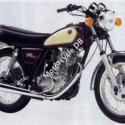 1985 Yamaha SR 500 (reduced effect)