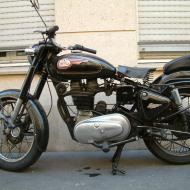 Enfield 500 Bullet (reduced effect)