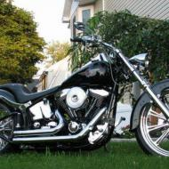 Harley-Davidson FLSTF Softail Fat Boy