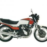 Honda CBX550F (reduced effect)
