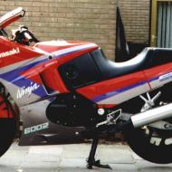 Kawasaki GPX600R (reduced effect)