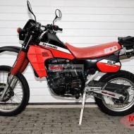 Kawasaki KLR600E (reduced effect)