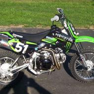 Kawasaki KLX110 Monster Energy