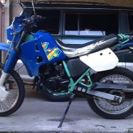 Kawasaki KMX125 (reduced effect)