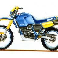 Yamaha XT 600 Z Tenere (reduced effect)