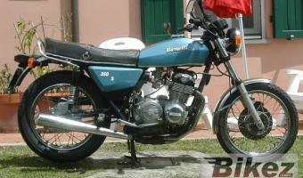 1980 Benelli 350 RS #1