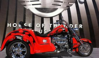 2012 Boss Hoss BHC-9 Coupe 445 Trike