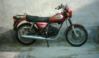 1982 Cagiva SST 350 (with sidecar) #1