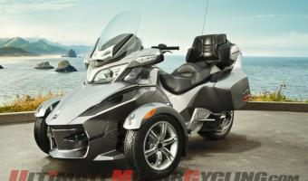 2011 Can-Am Spyder Roadster RT