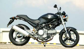 2005 Ducati Monster 620 Dark #1