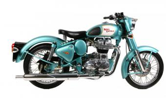 2003 Enfield 350 Classic Outfit