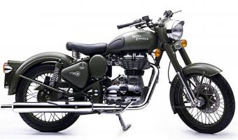 2003 Enfield 500 Classic Outfit