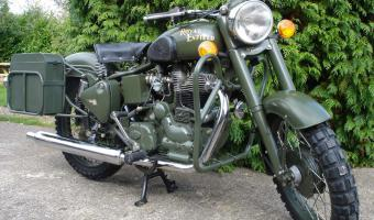 2007 Enfield Bullet Military