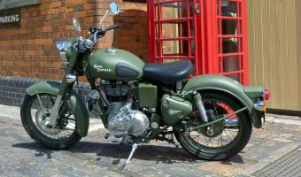 Enfield Bullet Military
