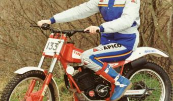 1990 Fantic Trial 241 Seven Days #1