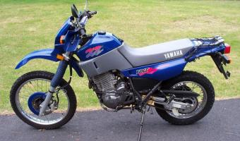 1990 Gilera XRT 600 (reduced effect)