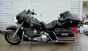 1989 Harley-Davidson 1340 Tour Glide Ultra Classic (reduced effect)