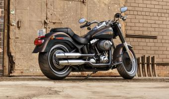 Harley-Davidson Fat Boy Lo 110th Anniversary