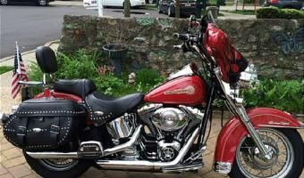 2008 Harley-Davidson FLSTC Heritage Softail Classic Firefighter