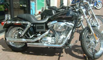 Harley-Davidson FXR 1340 Super Glide (reduced effect)