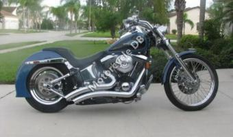 1988 Harley-Davidson FXST 1340 Softail (reduced effect)