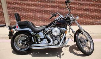 1988 Harley-Davidson FXSTC 1340 Softail Custom (reduced effect) #1