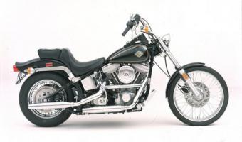1989 Harley-Davidson FXSTC 1340 Softail Custom (reduced effect)