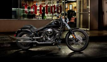 2013 Harley-Davidson Softail Blackline Dark Custom #1