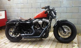 2012 Harley-Davidson XL1200X Springer Forty-Eight #1
