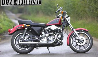 Harley-Davidson XLH Sportster 883 Evolution (reduced effect)