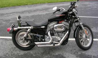 1990 Harley-Davidson XLH Sportster 883 Standard (reduced effect)