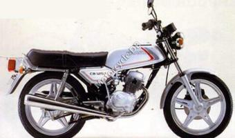 1982 Honda CB125T2 (reduced effect) #1